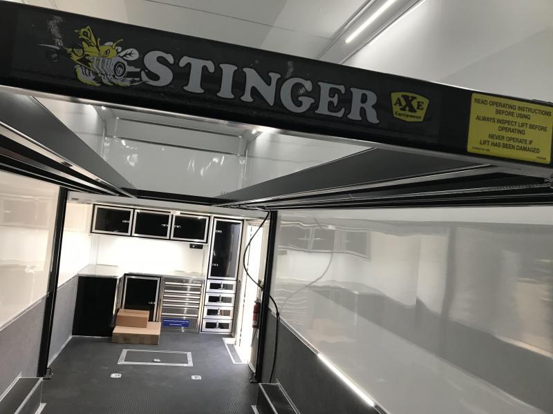 2019 Cargo Mate 28 Stacker Car Hauler