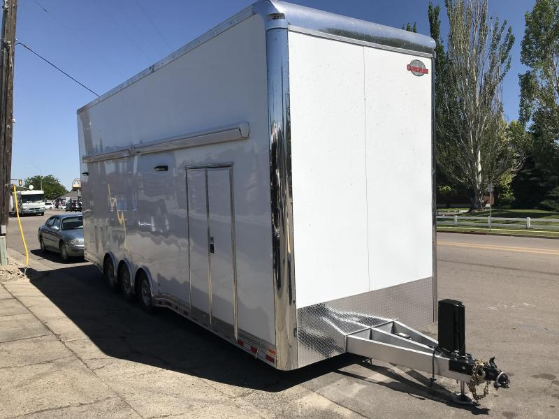 2019 Cargo Mate 28 Stacker Car Hauler