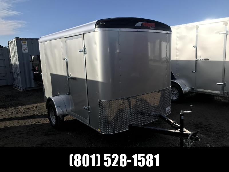 6x10 Silver Mirage Xcel Cargo Trailer with Barn Doors