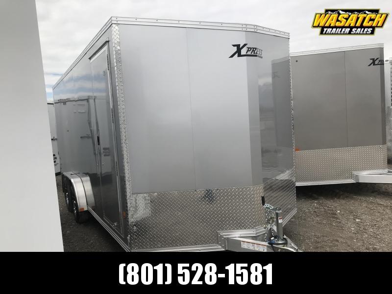 High Country 7.5x18 Xpress Enclosed Aluminum Cargo w V-nose