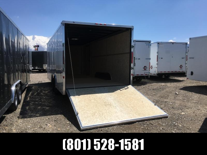 Charmac 100x22 White Commercial Duty Cargo with Ramp