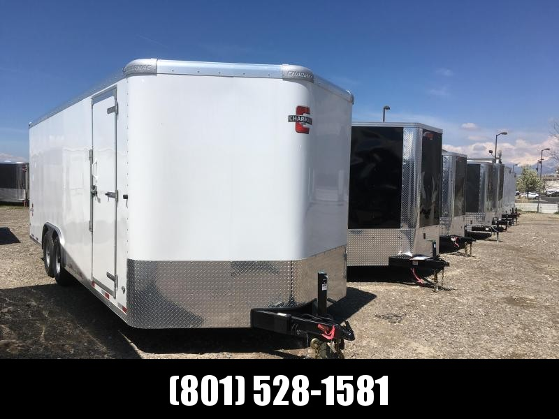 Charmac 100x22 White Commercial Duty Cargo with Ramp in Ashburn, VA