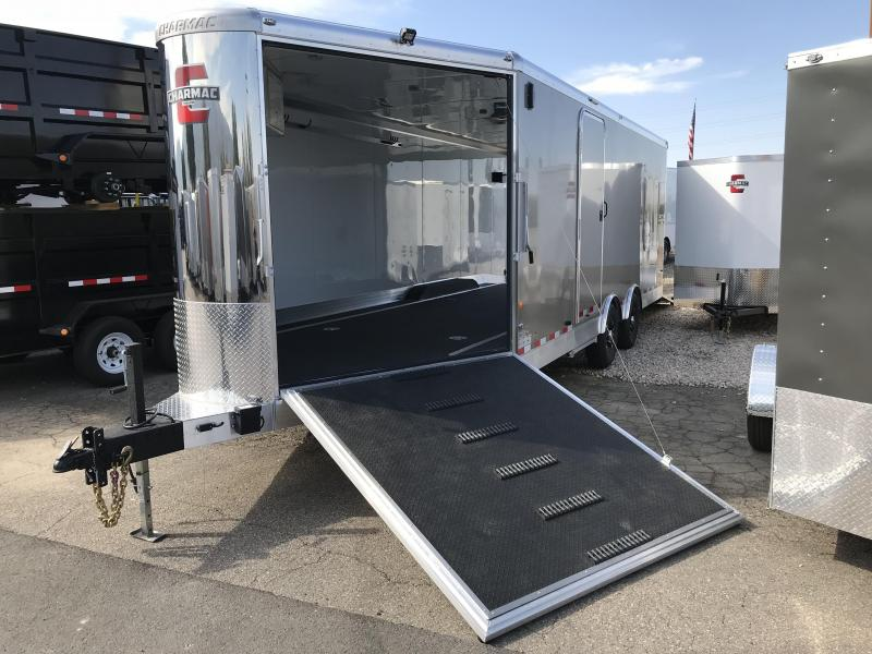 2018 Charmac Trailers 28ft Elite Trisport Snowmobile Trailer