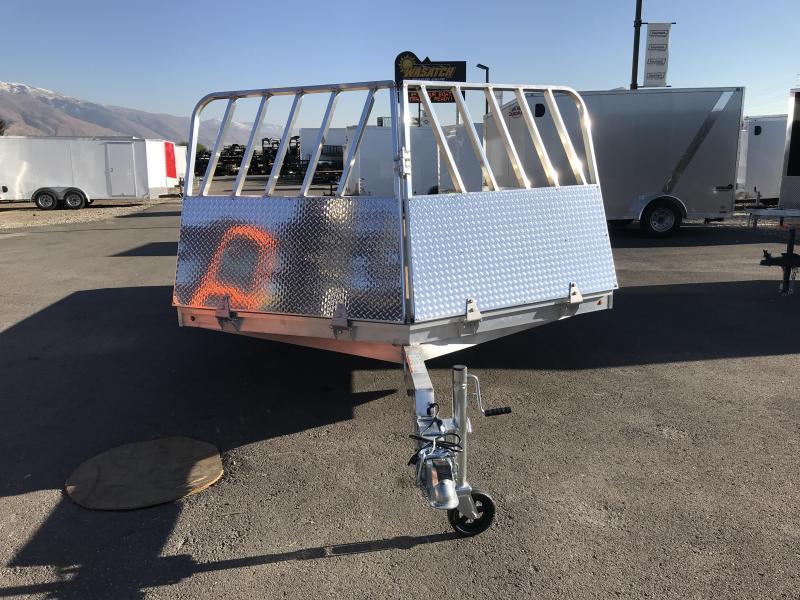 2018 Aluma 8614 Drive On/Off Snowmobile Trailer