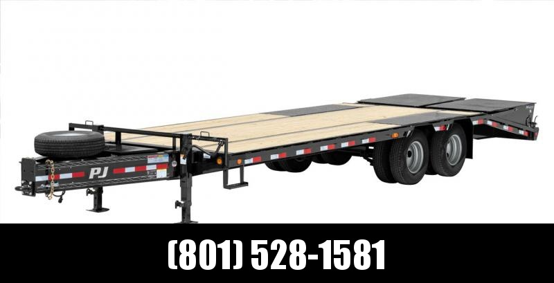 PJ 25ft Low-Pro Pintle with Duals (PL) Flatbed