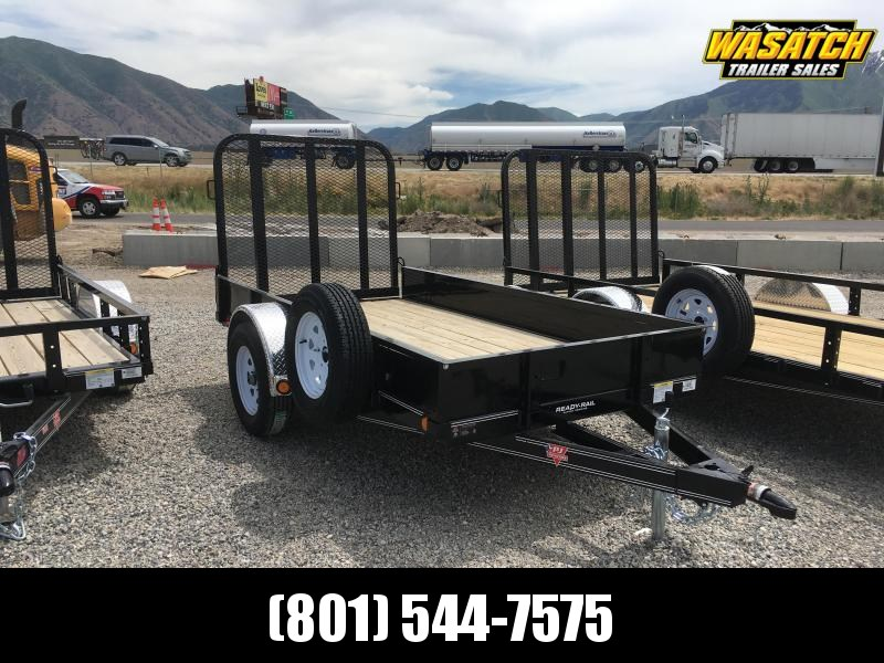 "2020 PJ Trailers 10'x60"" Single Axle Channel Utility Trailer"