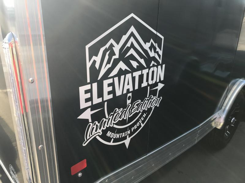2018 High Country 27ft Elevation Snowmobile Trailer