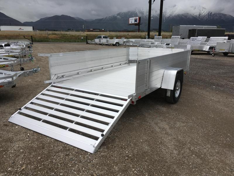 2019 Aluma 7712H 24 Solid Sides Utility Trailer