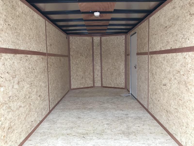 2018 Haulmark 7 x 16 Enclosed Cargo Trailer
