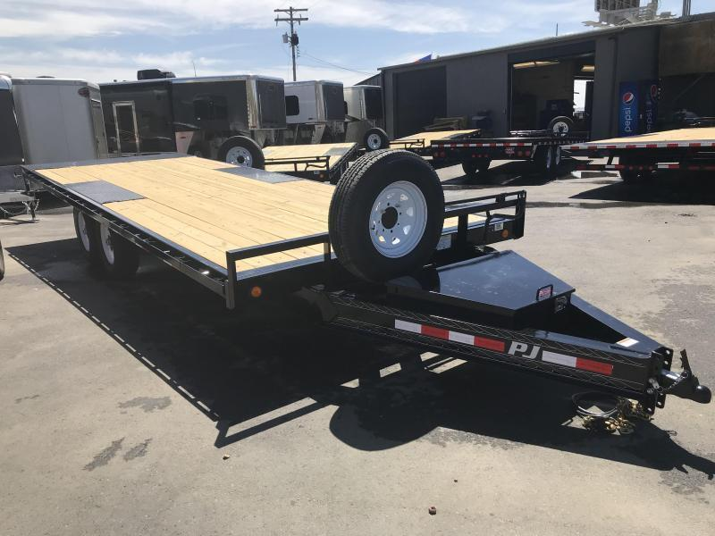 2019 PJ Trailers 22ft - Deckover Tilt (T8) Car / Racing Trailer
