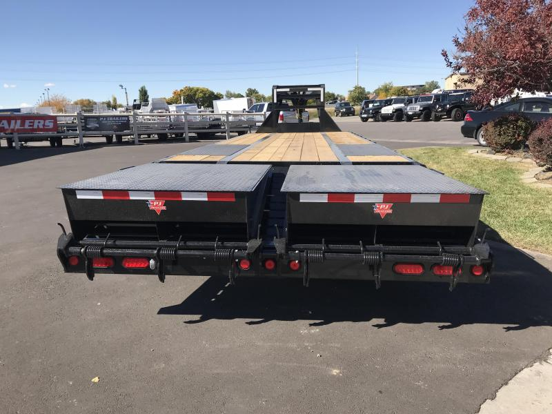 2019 PJ Trailers 40ft Gooseneck Low-Pro Flatdeck with Duals (LD) Flatbed Trailer