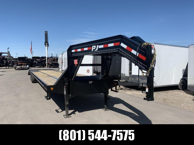PJ 40ft - Gooseneck Low-Pro Flatdeck with Duals (LD) in UT