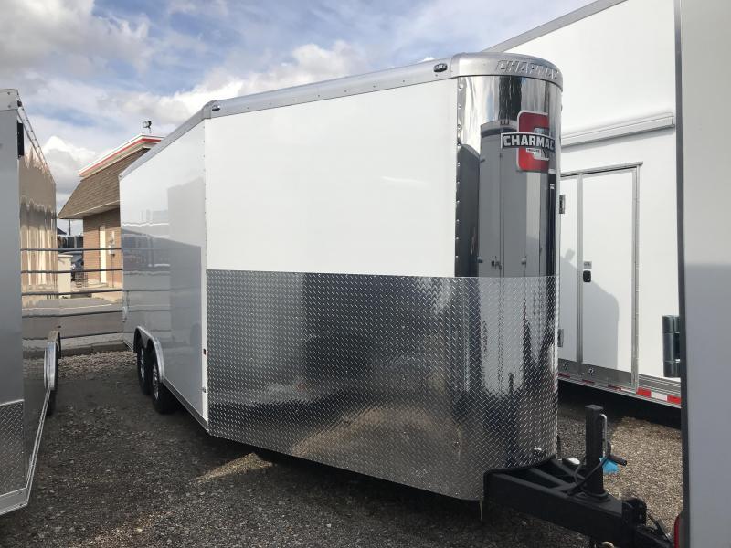2018 Charmac Trailers 22ft Tri Sport Snowmobile Trailer
