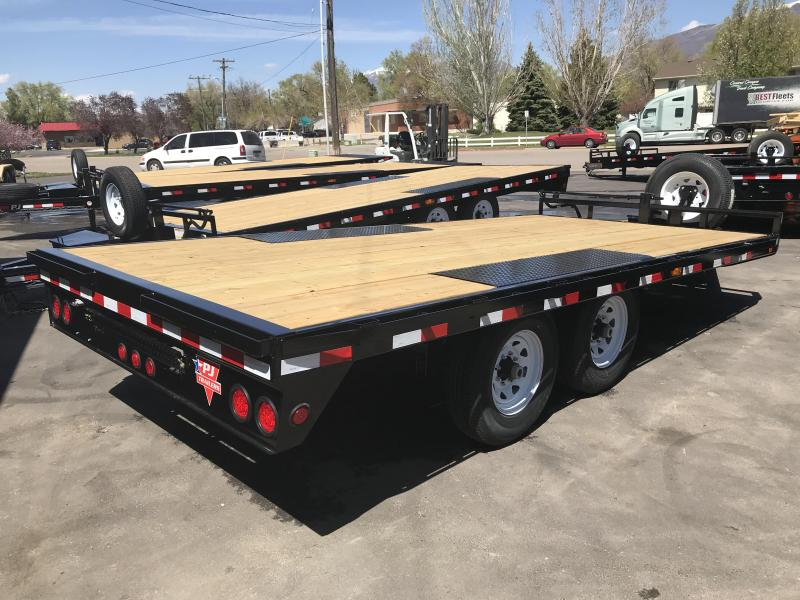 2019 PJ Trailers 16 Flatbed Trailer