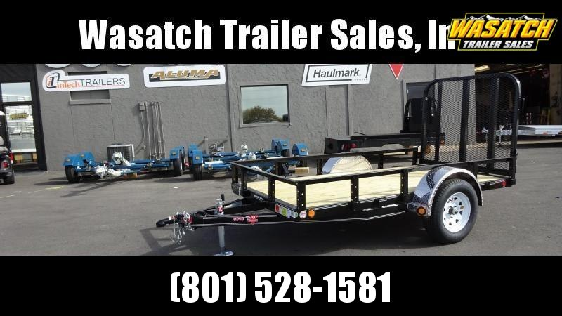 "PJ Trailers 60"" Single Axle Channel (U6) Utility Trailer"