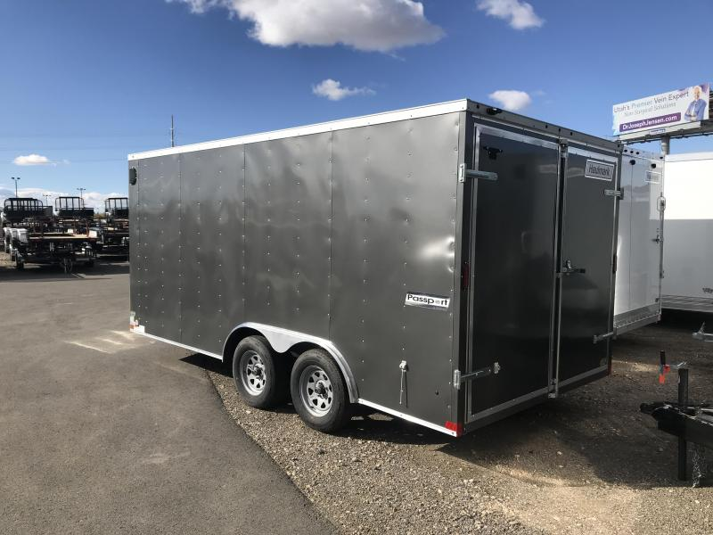 2017 Haulmark 8x16 Passport Enclosed Cargo Trailer