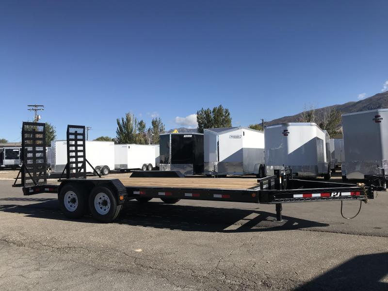 2018 PJ Trailers 20 Pro-Beam Equipment Trailer