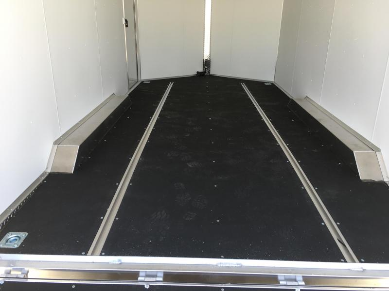 8x16 Charcoal High Country Xpress Cargo with Finished Interior