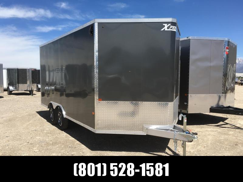 8x16 Charcoal High Country Xpress Cargo with Finished Interior in Ashburn, VA