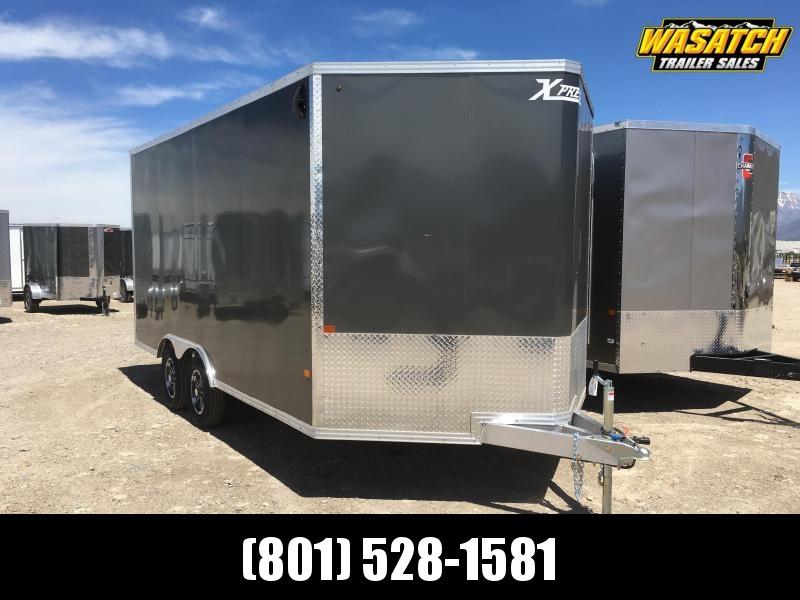 High Country 8x16 Express Enclosed Aluminum Cargo w/ V-nose