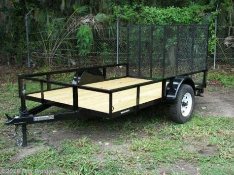 Triple Crown 6.4 x 12 SA Utility Trailer w/Ramp