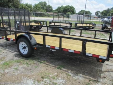 NEW 6 x 10 SA Utility Trailer W/Tube top and rear ramp