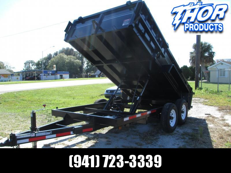NEW 7x14 14k HD Dump Trailer W/Tarp & Ramps in Ashburn, VA