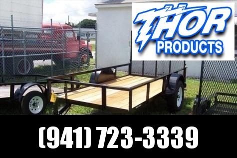 NEW 5X10 Utility Trailer w/Ramp POWDER COATED in Ashburn, VA