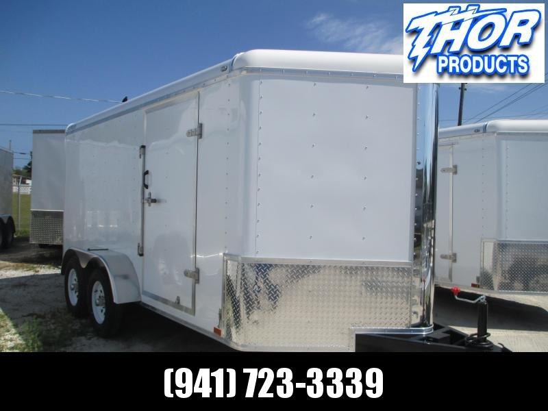7x14 TA Commercial Trailer w/E-track on Walls & shelf in front RAMP in Ashburn, VA