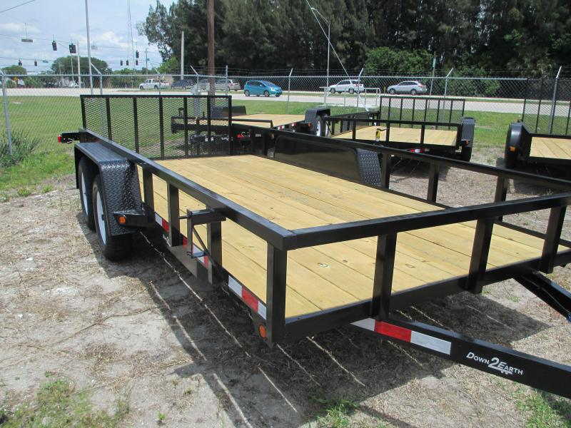 "NEW 6'10"" x 16 TA Trailer * 2"" Tube Top * ATV RAMPS IN SIDES"