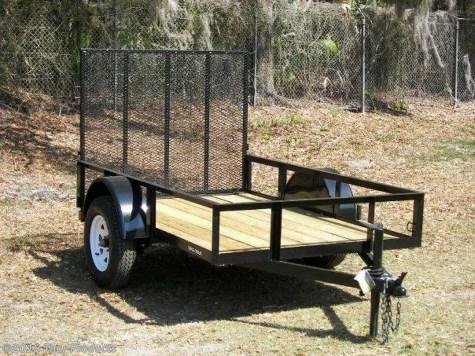 Triple Crown 5 x 8 SA Utility Trailer w/ramp