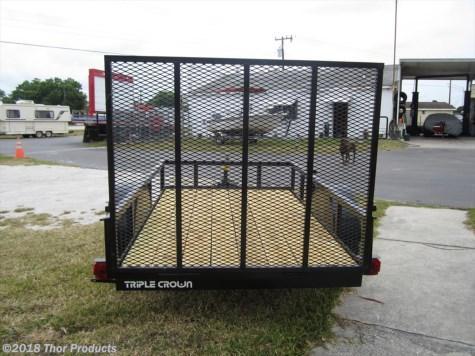 Triple Crown 5 x 8 SA Utility Trailer w/ramp