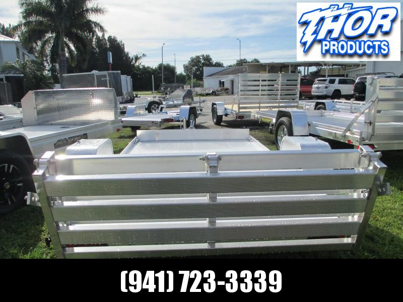 "NEW 5'3"" x 10' SA 6310 Aluminum Trailer w/gate"