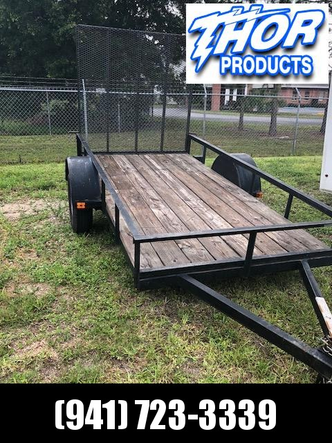 USED 5x10 Utility Trailer w/Ramp - Great Shape!!