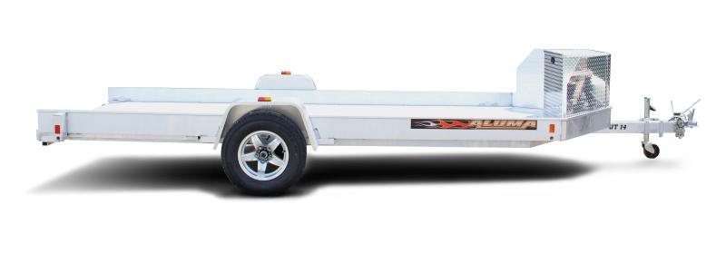 NEW UT14 UTV/ATV Aluminum Trailer w/pull out ramp ALUMA