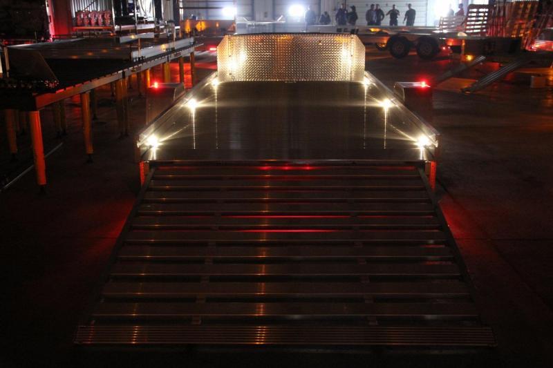 NEW UTR14 UTV/ATV Aluminum Trailer w/pull out ramp ALUMA