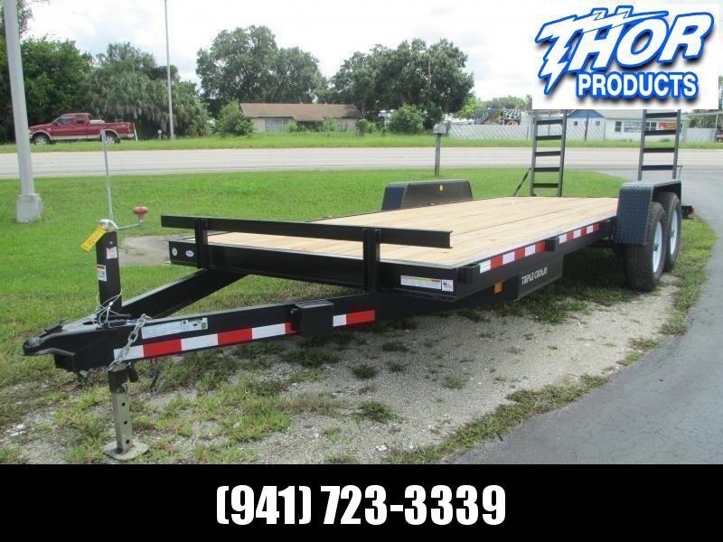 NEW 7x18 Equipment Trailer 10K w/ramps