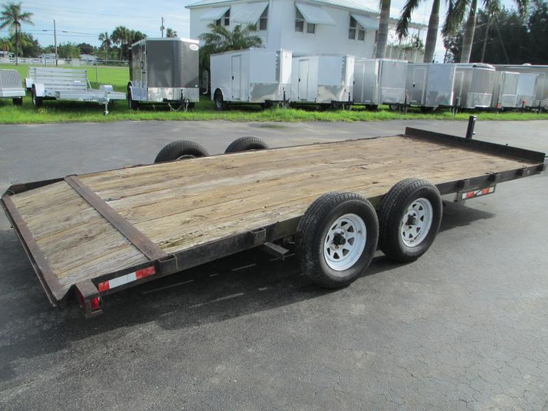 USED 7X18 TA Equipment Trailer