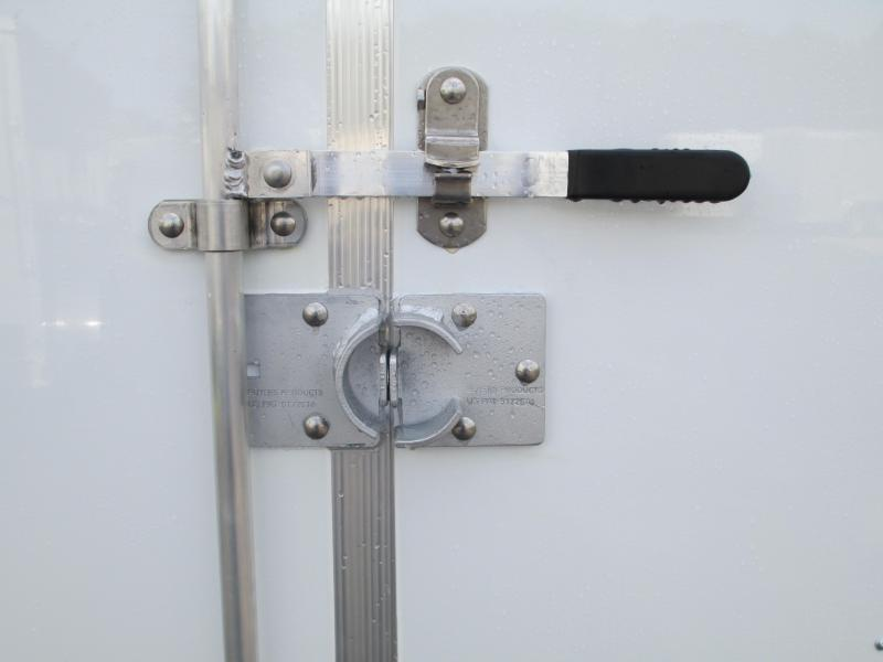 NEW 6X12 TA EXPRESS TRAILER DBL REAR DOORS SIDE DOOR AND SECURITY LOCKS * CONTRACTORS DREAM!!