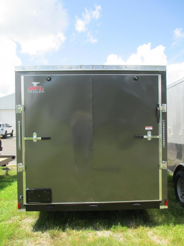 NEW 7X12 SA TRAILER W/RAMP CHARCOAL COLOR