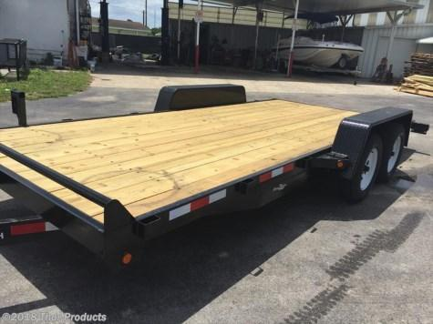 "Down 2 Earth 6'10"" X 18 Car Hauler Trailer 7K w/Removable Fender"