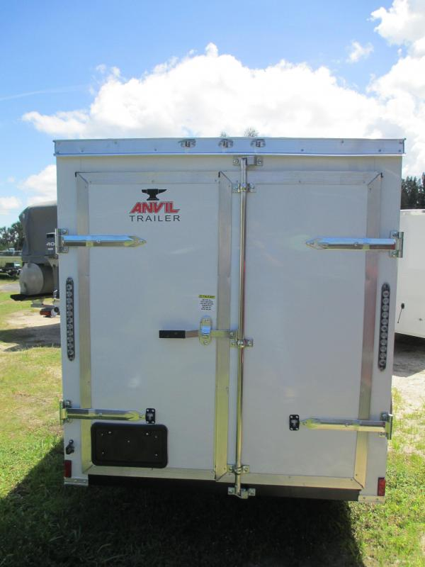 NEW 5 x 10 SA Enclosed Trailer w/side and double rear doors RADIAL tires