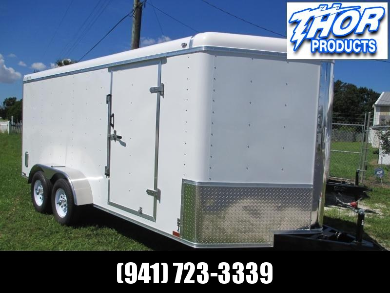 NEW 7x16 EXPRESS Commercial Duty Enclosed Trailer LANDSCAPERS DREAM!! in Ashburn, VA