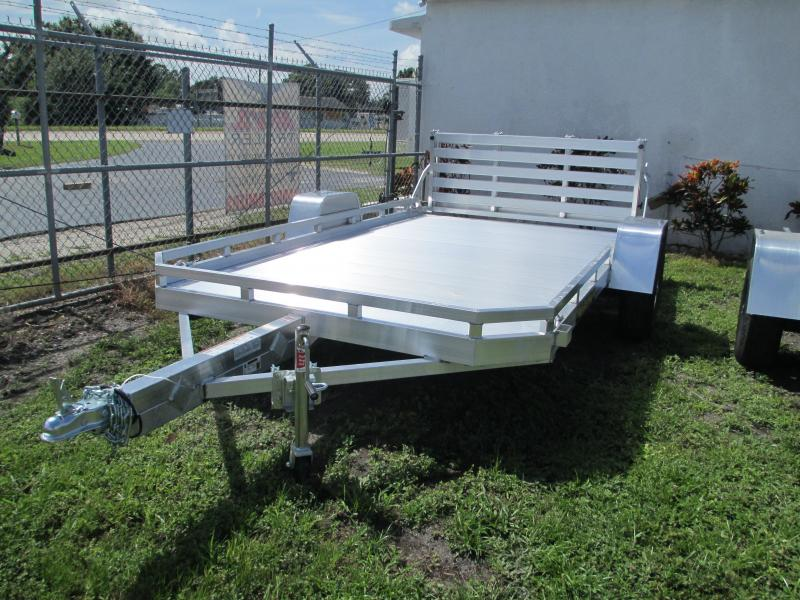 "NEW 6'6"" x 11'10""  ALUMA Utility Trailer w/bi-fold rear gate"