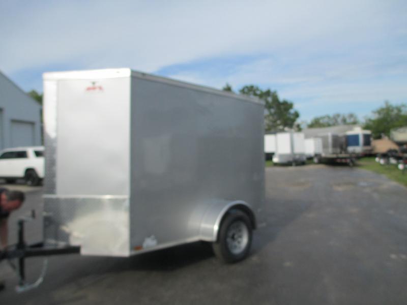 NEW 5x8V Cargo Trailer side door *ramp rear door 6' Interior height!!
