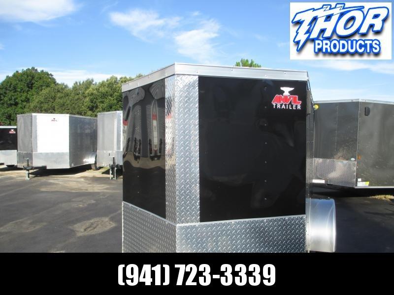 NEW 5 x 8 SA Trailer BLACK Radial Tires Side and rear Ramp Doors in Ashburn, VA