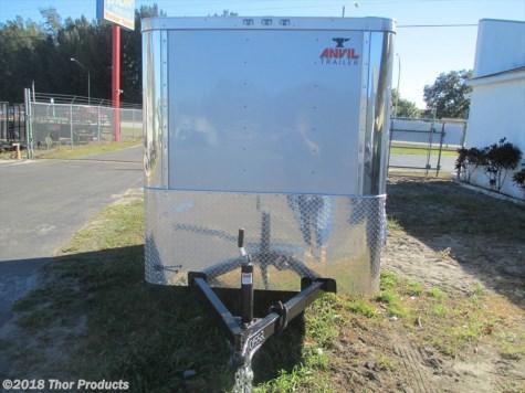 NEW 5 x 8 SA Trailer Silver Flat Front side door Ramp Door