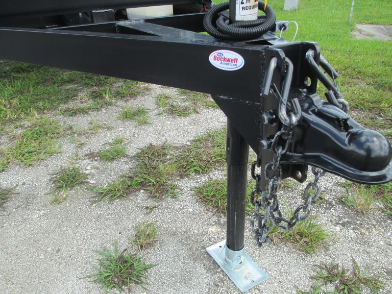 6x12 TA Dump Trailer - Haul 8140# Remote Swing Door