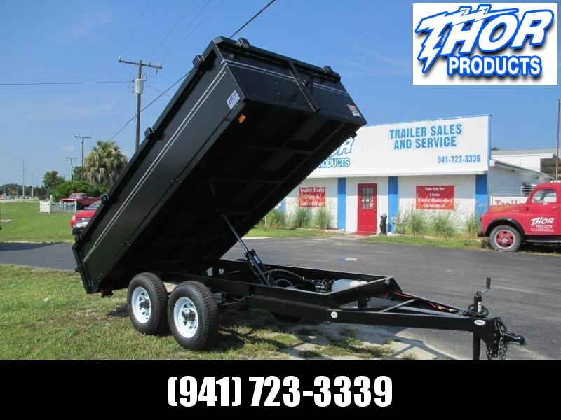 6x12 TA Dump Trailer - Haul 8140# Remote Swing Door in Ashburn, VA