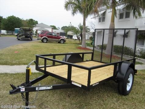 NEW 5 x 8 SA Utility Trailer w/ramp